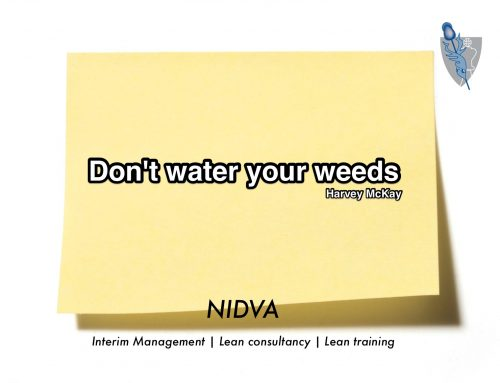 dont water your weeds